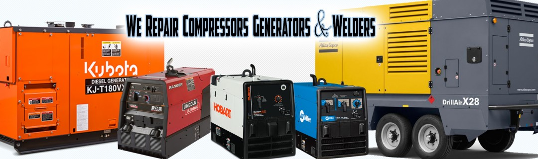 Welder, Air Compressor, Generator, and Engine Repair and Service in